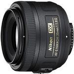 Vidvinkelobjektiv Nikon AF-S DX NIKKOR 35mm F/1.8G