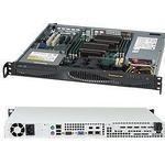 Datorchassin SuperMicro CSE-512F-350B Server 350W / Black