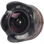 Fisheyeobjektiv Samyang 7.5mm F3.5 Fisheye for Micro Four Thirds