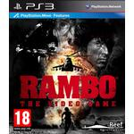 Spel playstation move ps3 PlayStation 3-spel Rambo: The Game