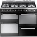 Electric Oven Smeg SYD4110BL Black