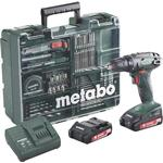 Borrmaskin Metabo BS 18 Set