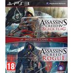 PlayStation 3 Games Double Pack (Assassin's Creed 4: Black Flag + Assassin's Creed: Rogue)