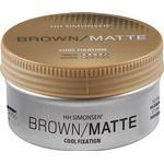 Hårprodukter HH Simonsen Brown/Matte Wax 100ml