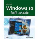 Häftad Böcker Windows 10 helt enkelt (Häftad, 2016)