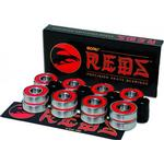 Kullager Skateboard Bones Reds 627 7mm 16-pack