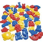 Dantoy Sand Moulds 48pcs 6966