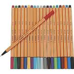 Pennor Stabilo Fineliner 88 Point Color Pens 20-pack