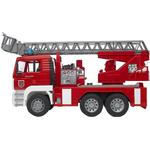 Toy Car Bruder Man Fire Engine With Selwing Ladder 2771
