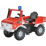 Unimog Leksaker Rolly Toys Fire Brigade Unimog With Gears & Handbrake