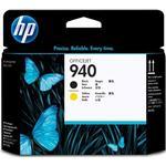Skrivhuvuden HP 940 Printhead (Black/Yellow)