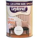 Paint Leyland Trade Non Drip Gloss Wood Paint, Metal Paint White 1.25L