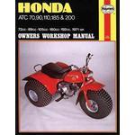 Naturvetenskap & Teknik Böcker Honda Atc 70, 90, 110, 185 and 200 Manual (Pocket, 1988)
