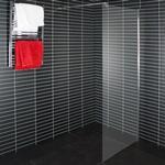 Frostat glas - Duschvägg Arrow Wall Duschvägg 1000mm