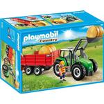 Tractor Playmobil Large Tractor with Trailer 6130