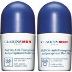 Clarins Men Antiperspirant Deo Roll-on 250ml 2-pack