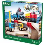 Toys Brio Rail & Road Loading Set 33210