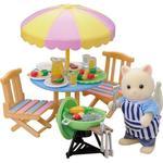 Doll-house Furniture Sylvanian Families Garden Barbecue Set