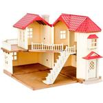 Doll Accessories Sylvanian Families City House with Lights