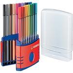 Pennor Stabilo Fineliner Color Pens 68 Point 20-pack