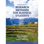 Research Methods for Business Students (E-bok, 2015)