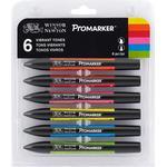 Pennor Winsor & Newton ProMarker 6 Vibrant Tones