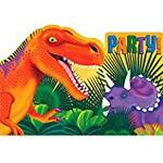 Inbjudningar Amscan Prehistoric Party Postcard Invites