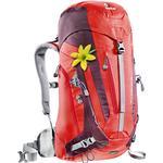 Alpinryggsäck Deuter Act Trail 28 SL - fire-aubergine