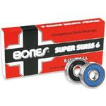 Kullager Skateboard Bones Super Swiss 6 8-pack
