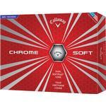 Golfbollar Callaway Chrome Soft (12 pack)