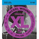 Musiktillbehör D'Addario EXL120