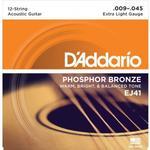 Musiktillbehör D'Addario EJ41