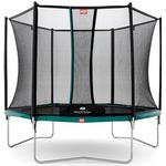 Studsmattor Berg Talent 300cm + Safety Net Comfort