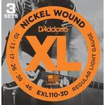 Strängar - Stämgaffel D'Addario EXL110-3D