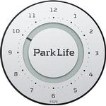 Digital - Parkeringsskiva NeedIT Park Life Titanium Silver