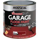 Floor Paint - Glossy Ronseal Diamond Hard Garage Floor Paint Red 2.5L