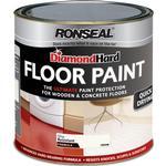 Floor Paint - Glossy Ronseal Diamond Hard Floor Paint Off-white 2.5L