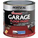 Satin Paint Ronseal Diamond Hard Garage Floor Paint Blue 2.5L