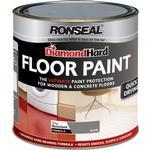 Floor Paint - Glossy Ronseal Diamond Hard Floor Paint Grey 2.5L