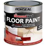 Floor Paint - Glossy Ronseal Diamond Hard Floor Paint Red 2.5L