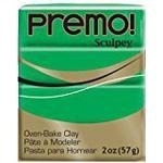 Polymerlera Sculpey Premo Polymer Clay Green 57g
