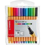 Stabilo Fineliner Point 88 Mini 12-pack