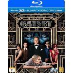 Den store Gatsby Filmer Den store Gatsby 3D (Blu-ray 3D + Blu-ray) (3D Blu-Ray 2013)
