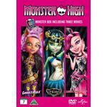 Monster High Box - 3 filmer (3DVD) (DVD 2014)