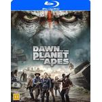 Apornas planet: Uppgörelsen Filmer Dawn of the planet of the apes (Blu-ray) (Blu-Ray 2014)