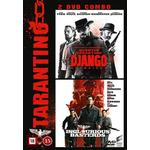 Django Unchained Filmer Django unchained + Inglorious basterds (2DVD) (DVD 2015)
