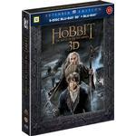 Hobbit 3 - Femhäraslaget: Extended edition 3D (2Blu-ray 3D + 3Blu-ray) (3D Blu-Ray 2014)