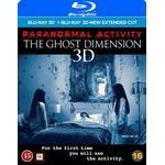 Paranormal activity blu ray Filmer Paranormal activity 6 3D + 2D Extender edition (Blu-ray 3D + Blu-ray) (3D Blu-Ray 2015)