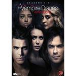 Vampire diaries: Säsong 1-7 (35DVD) (DVD 2016)