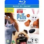 Husdjurens hemliga liv 3D (Blu-ray 3D + Blu-ray) (3D Blu-Ray 2016)